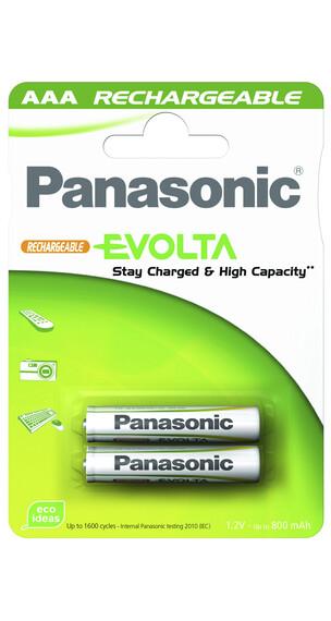 Panasonic Batería Evolta AAA - Accesorios iluminación - geladen gris/blanco